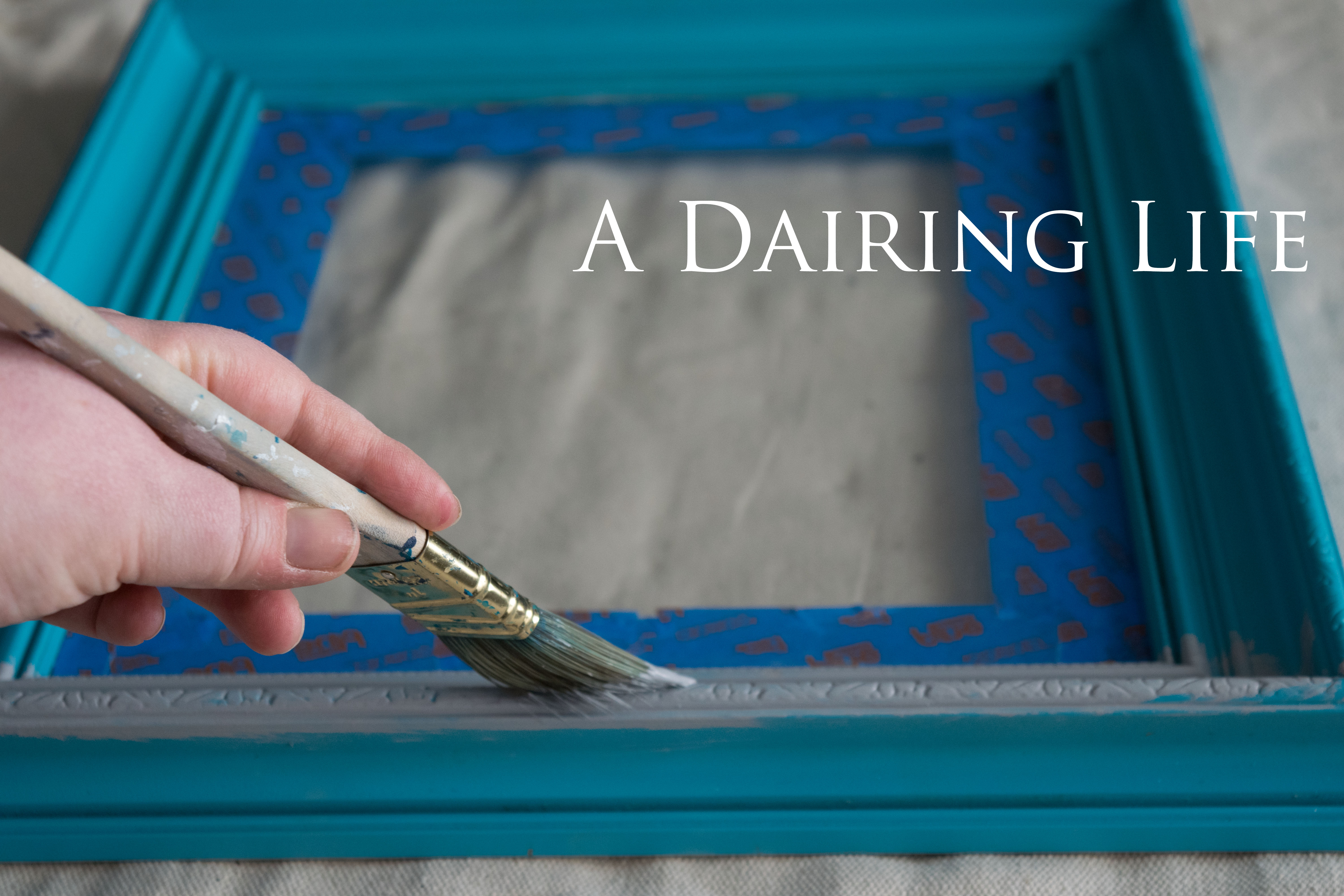 chalk paint Archives | A Dairing Life
