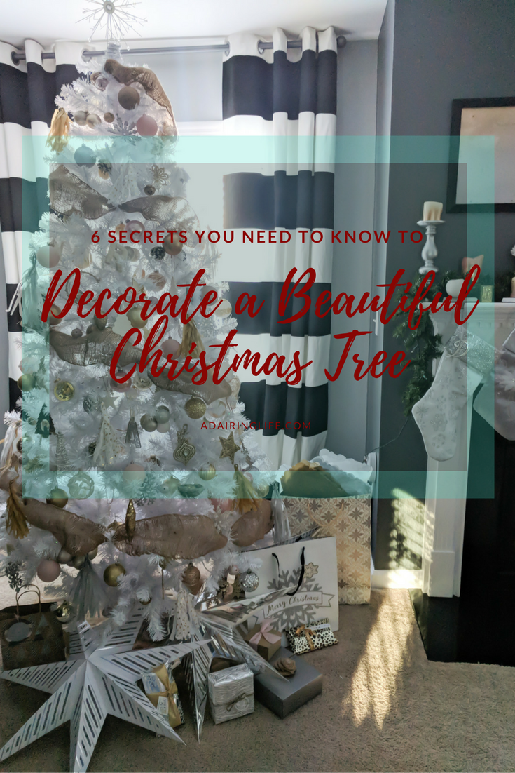 Plus bonus tips, tricks, hacks, and secrets that I use to trim my Christmas Tree. Decorate your Christmas Tree for big impact on a small budget!