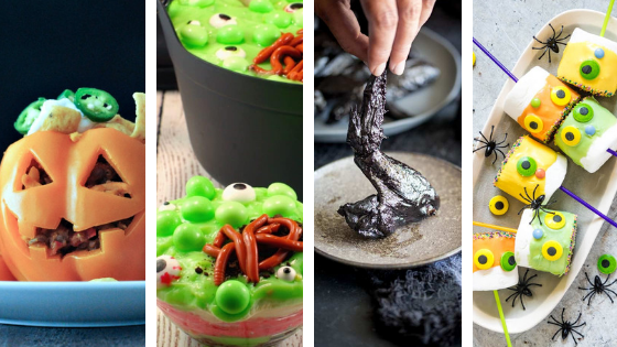 28 Creepy Crawly Foods to Make This Halloween
